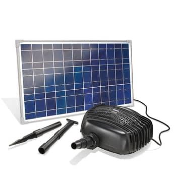 Garda solcelledrevet bekkepumpesystem