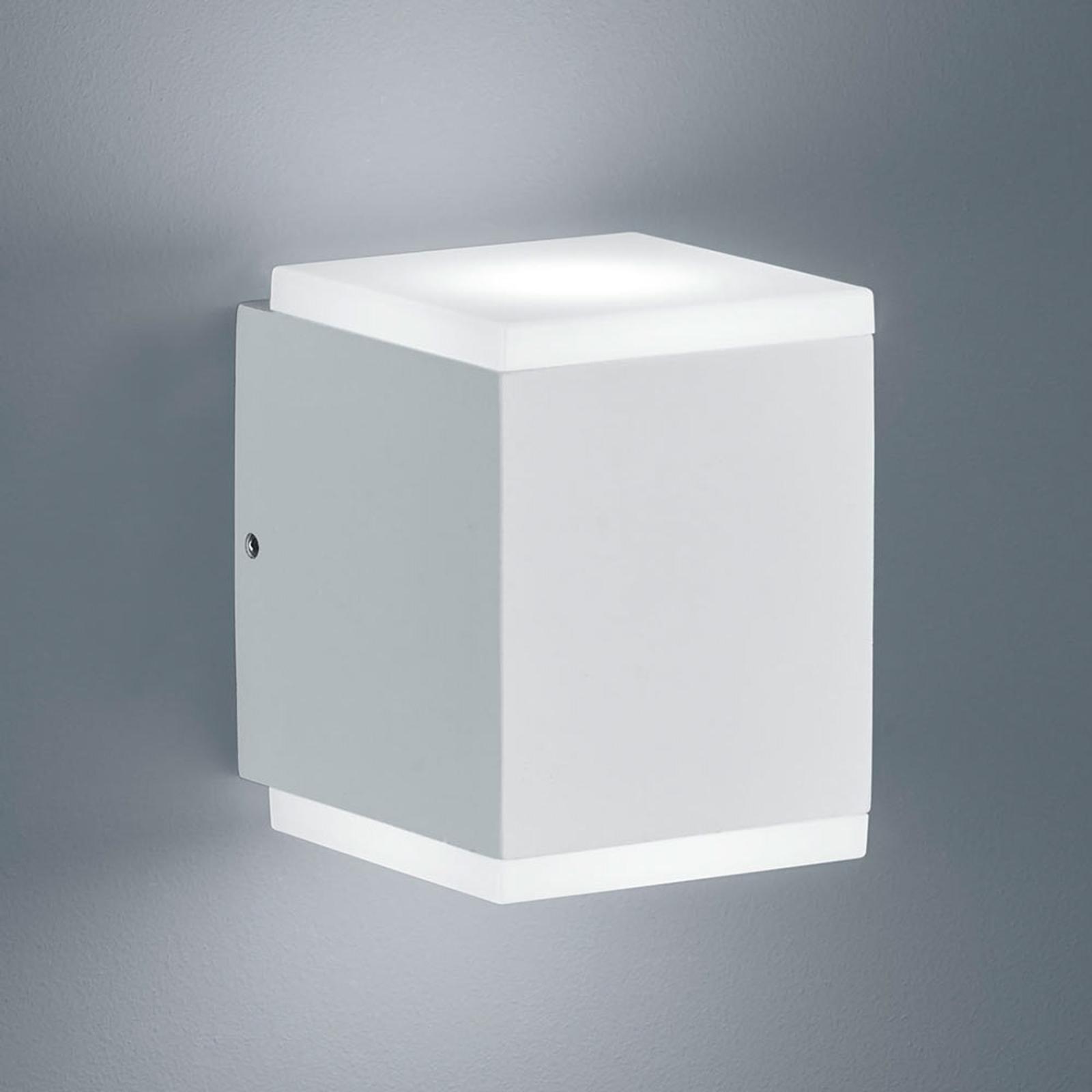 Helestra Kibo - LED-Außenwandleuchte, mattweiß