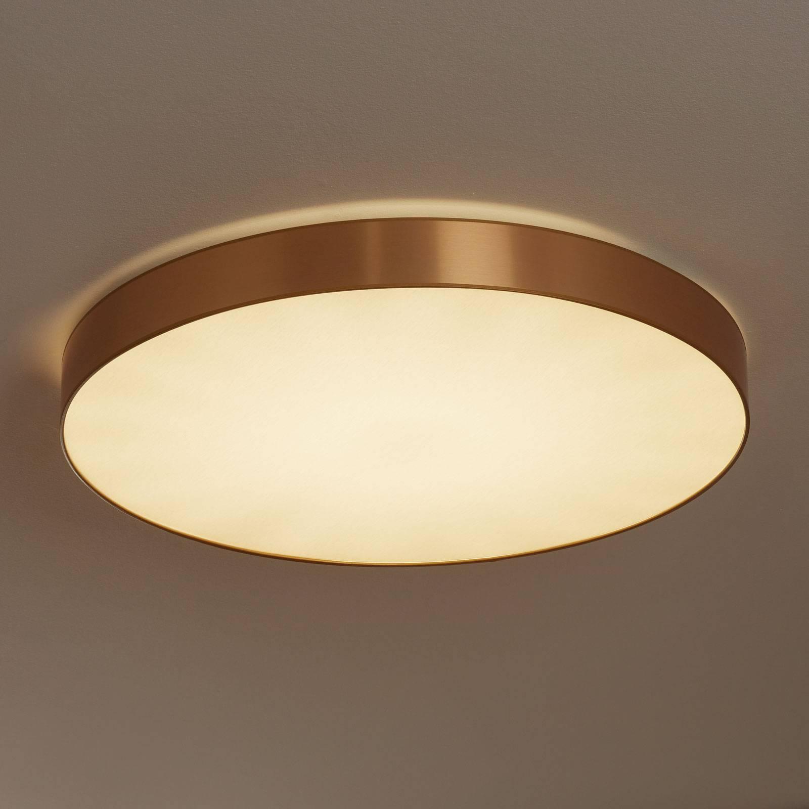 Lampa sufitowa Aurelia ściemniana złoto 78 cm