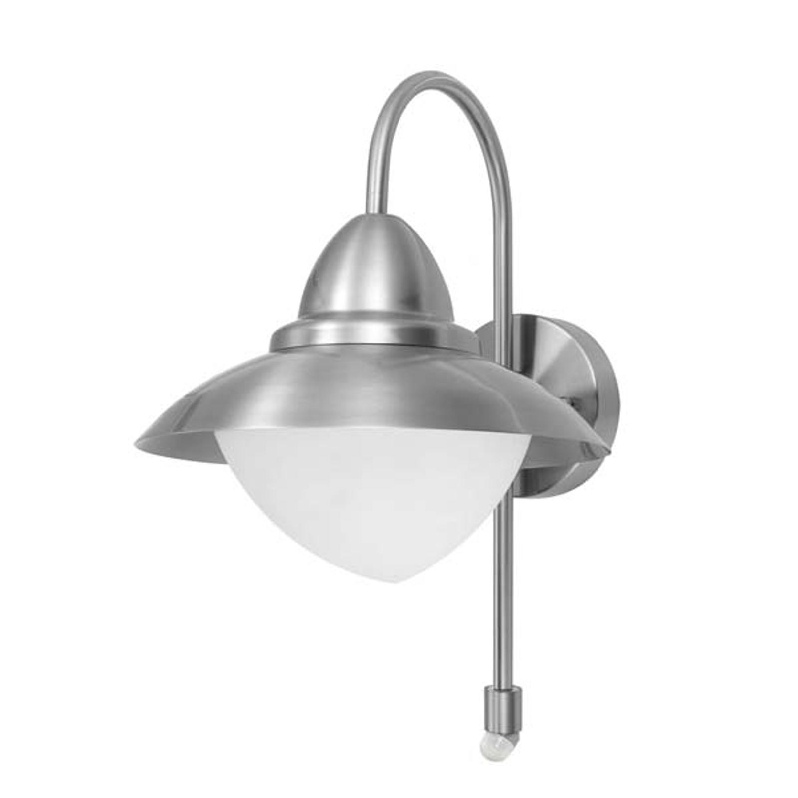 Vegglampe Sidney med bevegelsesmelder