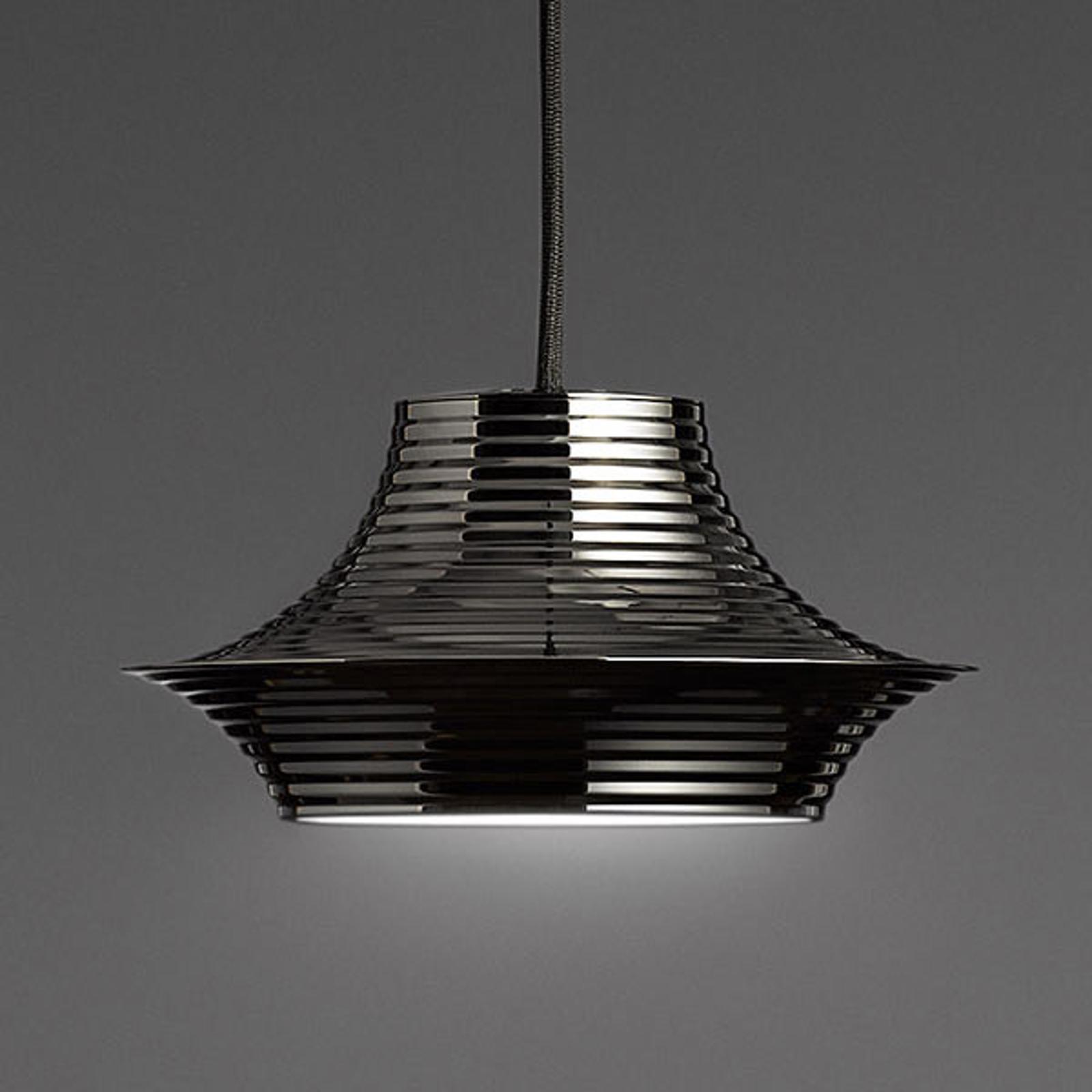 Bover Tibeta 03 - LED hanglamp in chroom-zwart