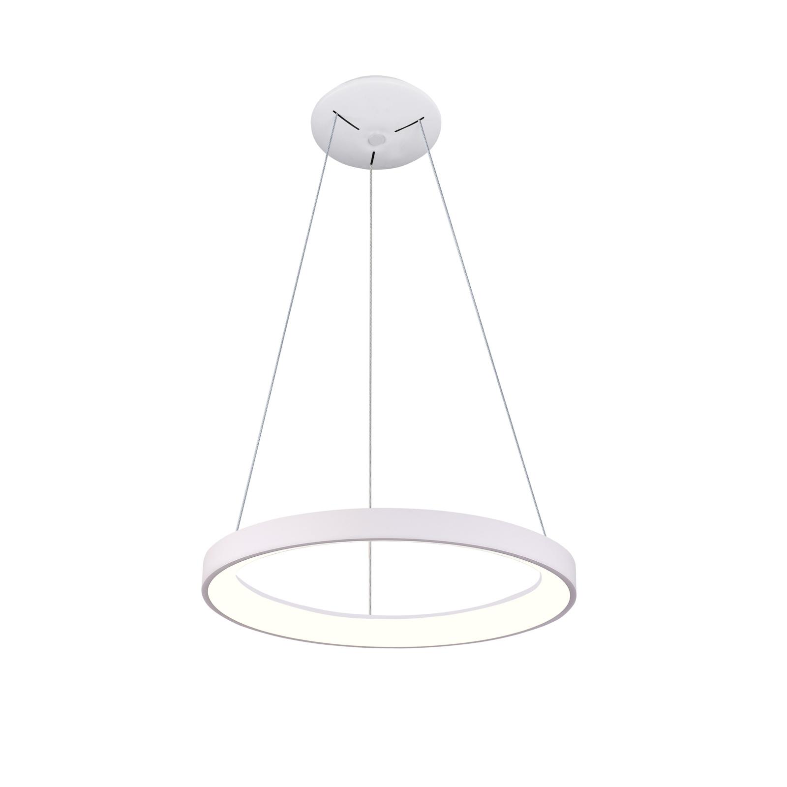 Arcchio Vivy -LED-riippuvalaisin, valkoinen, 38 cm
