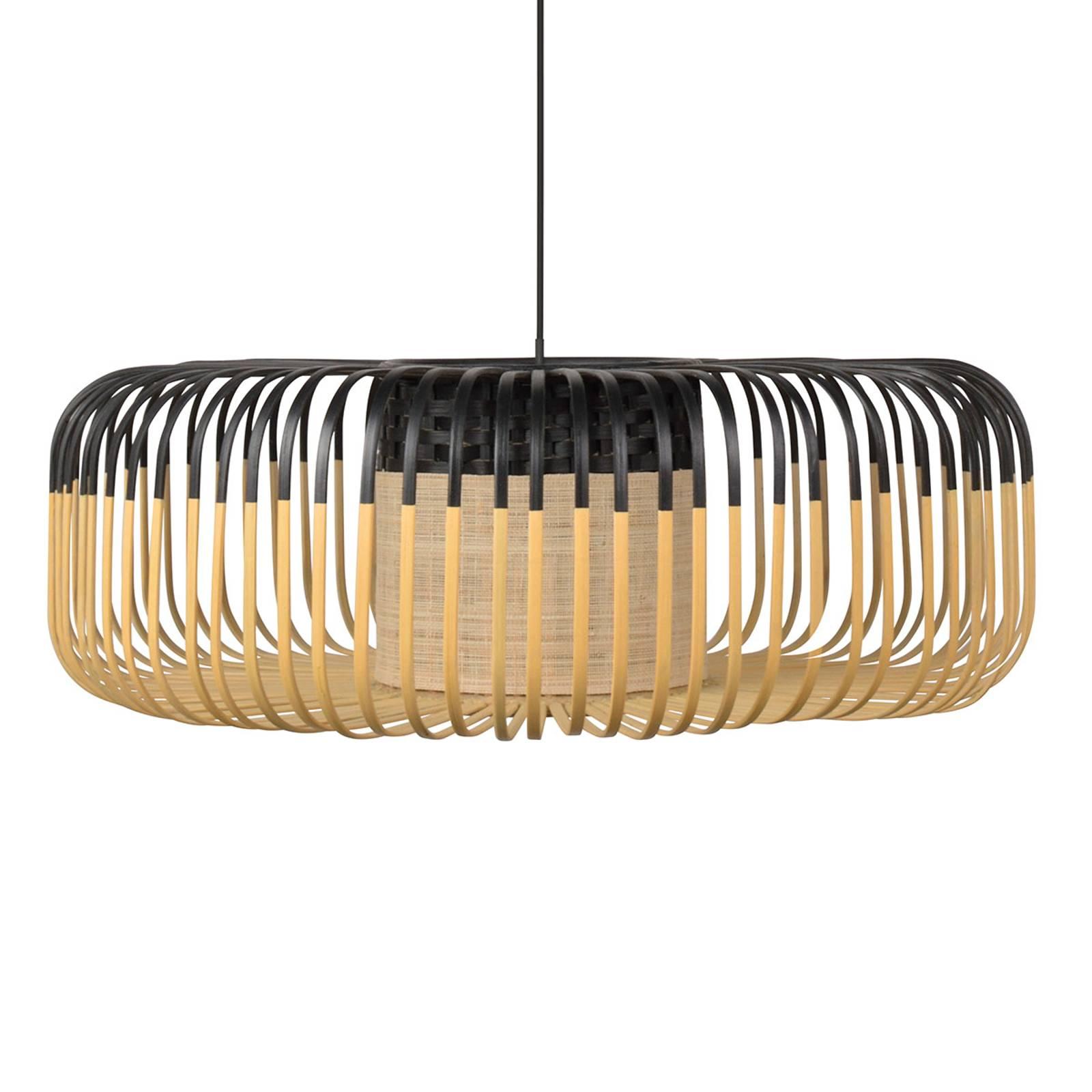Forestier Bamboo Light XL hanglamp 60 cm zwart