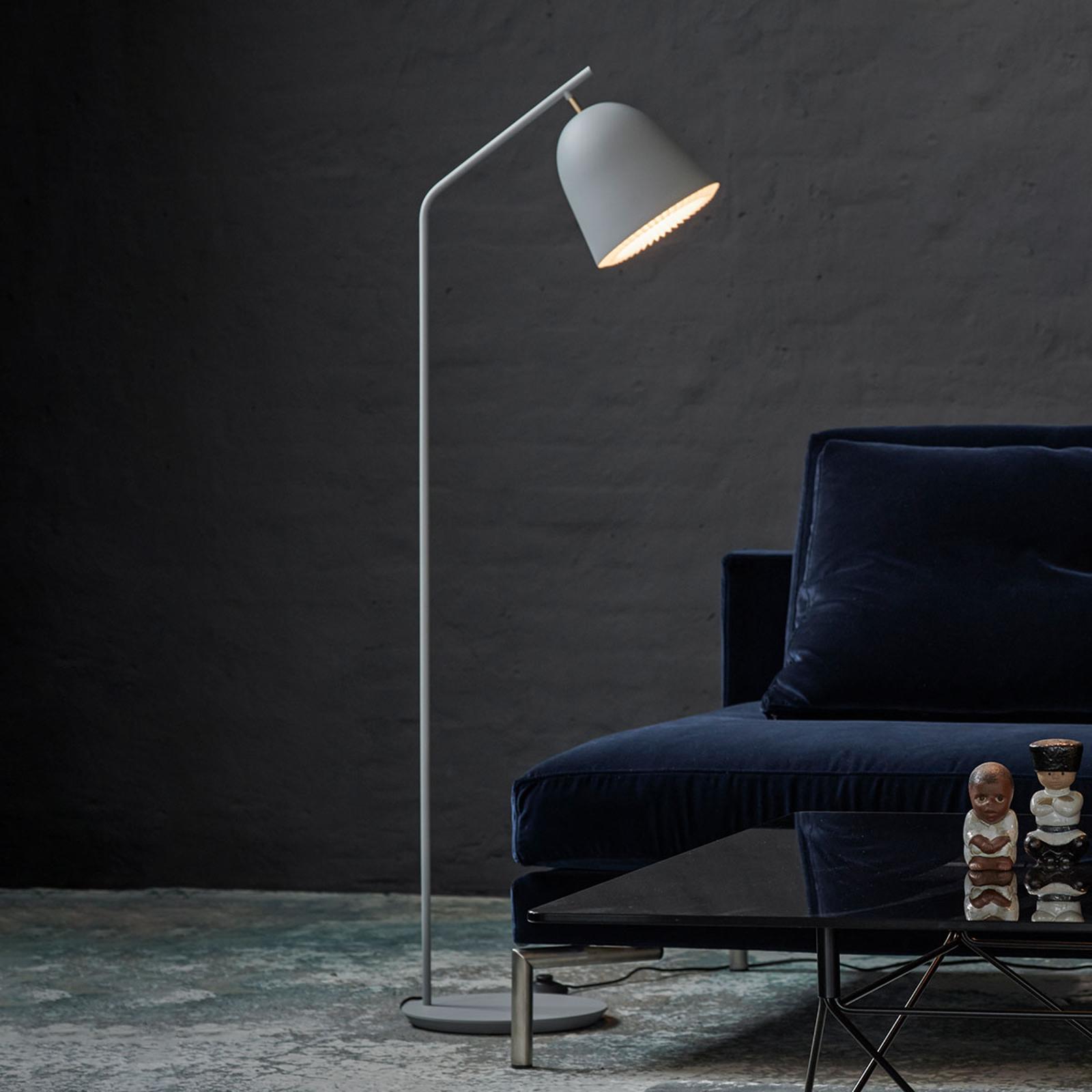 LE KLINT Caché - designová stojací lampa, šedá