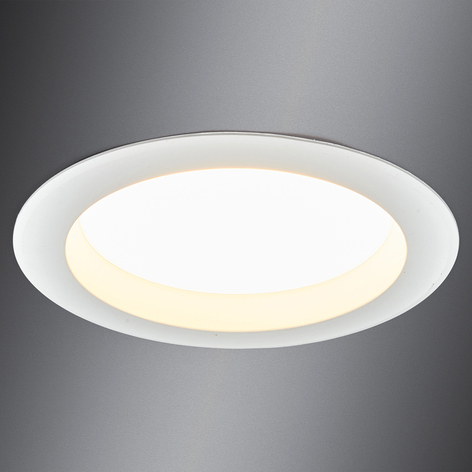 Klart lysende LED-downlight Arian, 17,4 cm
