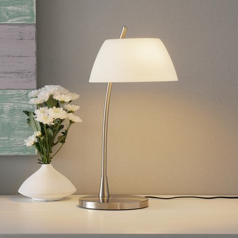 Lámpara de sobremesa Malmö niquelada