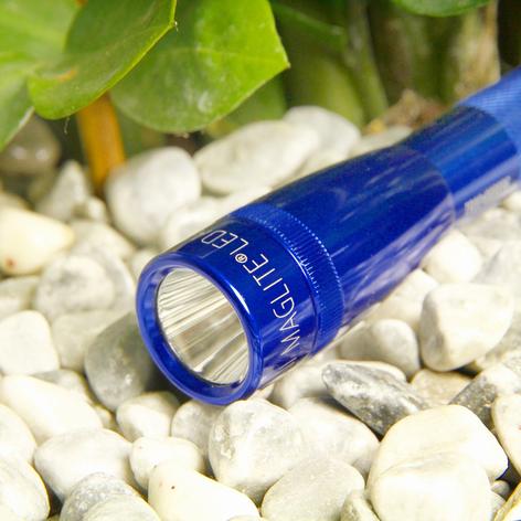 Blå LED-lommelykt Mini-Maglite