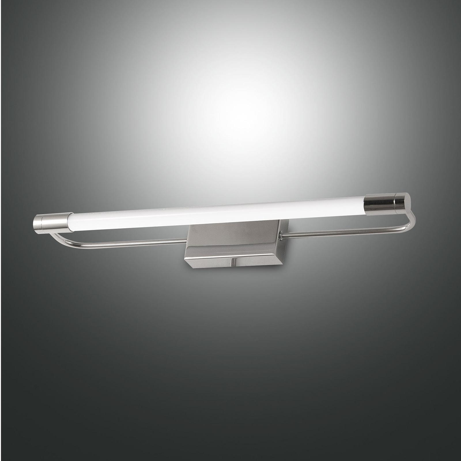Rapallo LED wall light, chrome, IP44_3502731_1