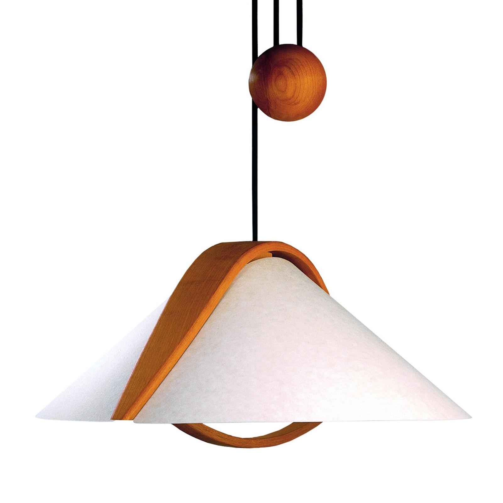 Linupphängd lampa Arta från Domus