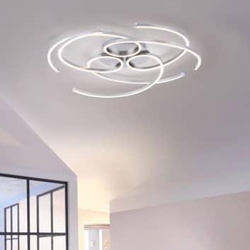 LED stropní světlo Danilo, stmívatelné vypínačem