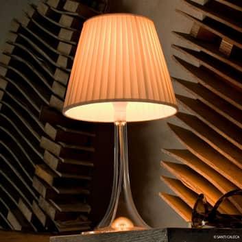 FLOS Miss K stolní lampa, krémové