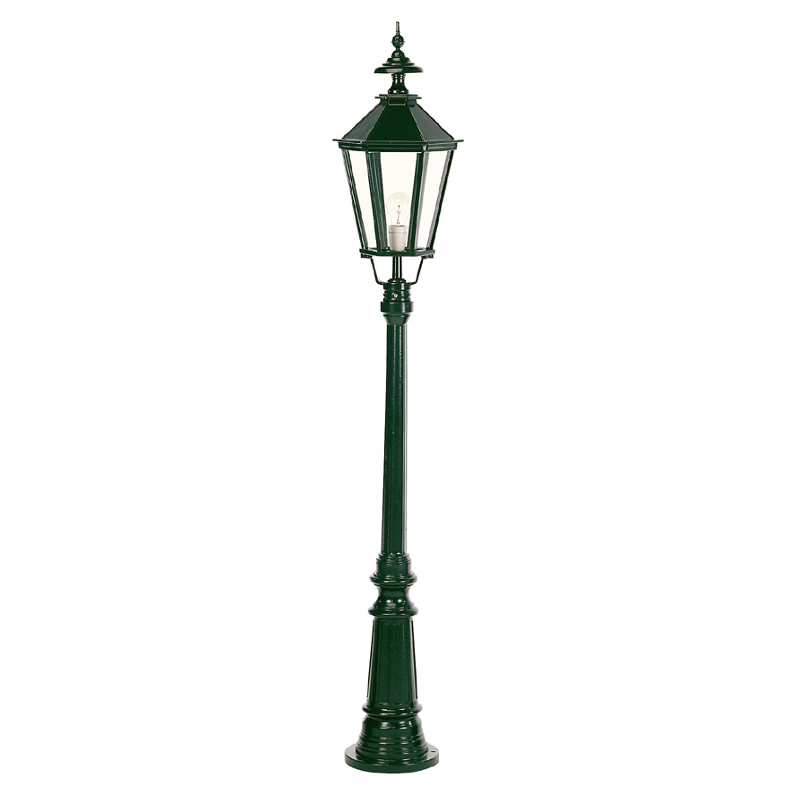 Piękna latarnia Dublin 1-punktowa zielona