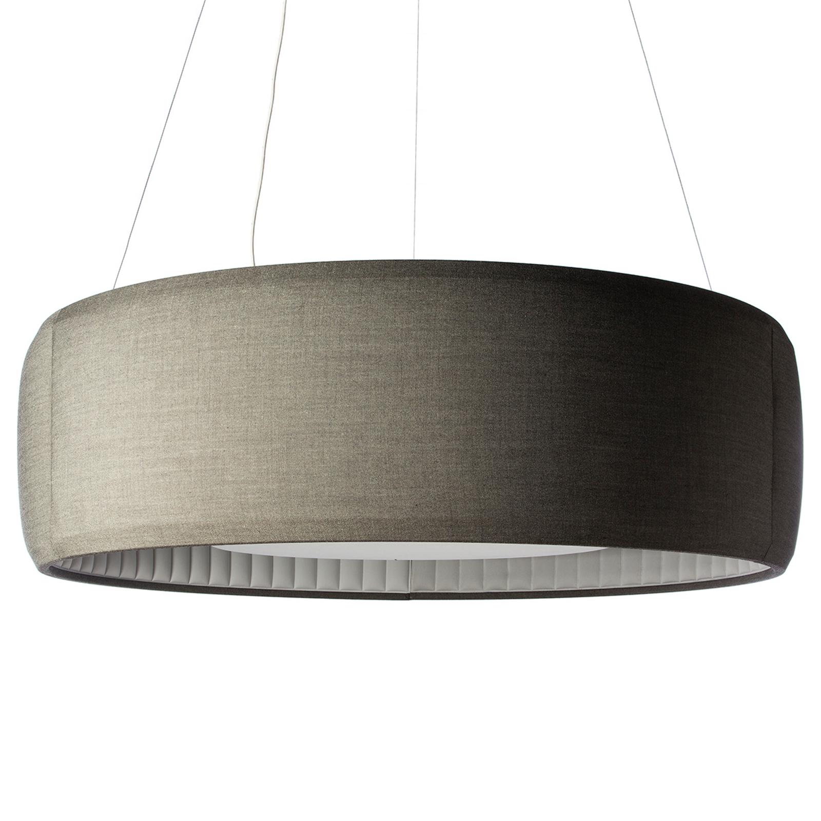 Luceplan Silenzio LED hanglamp grijs Ø 150cm
