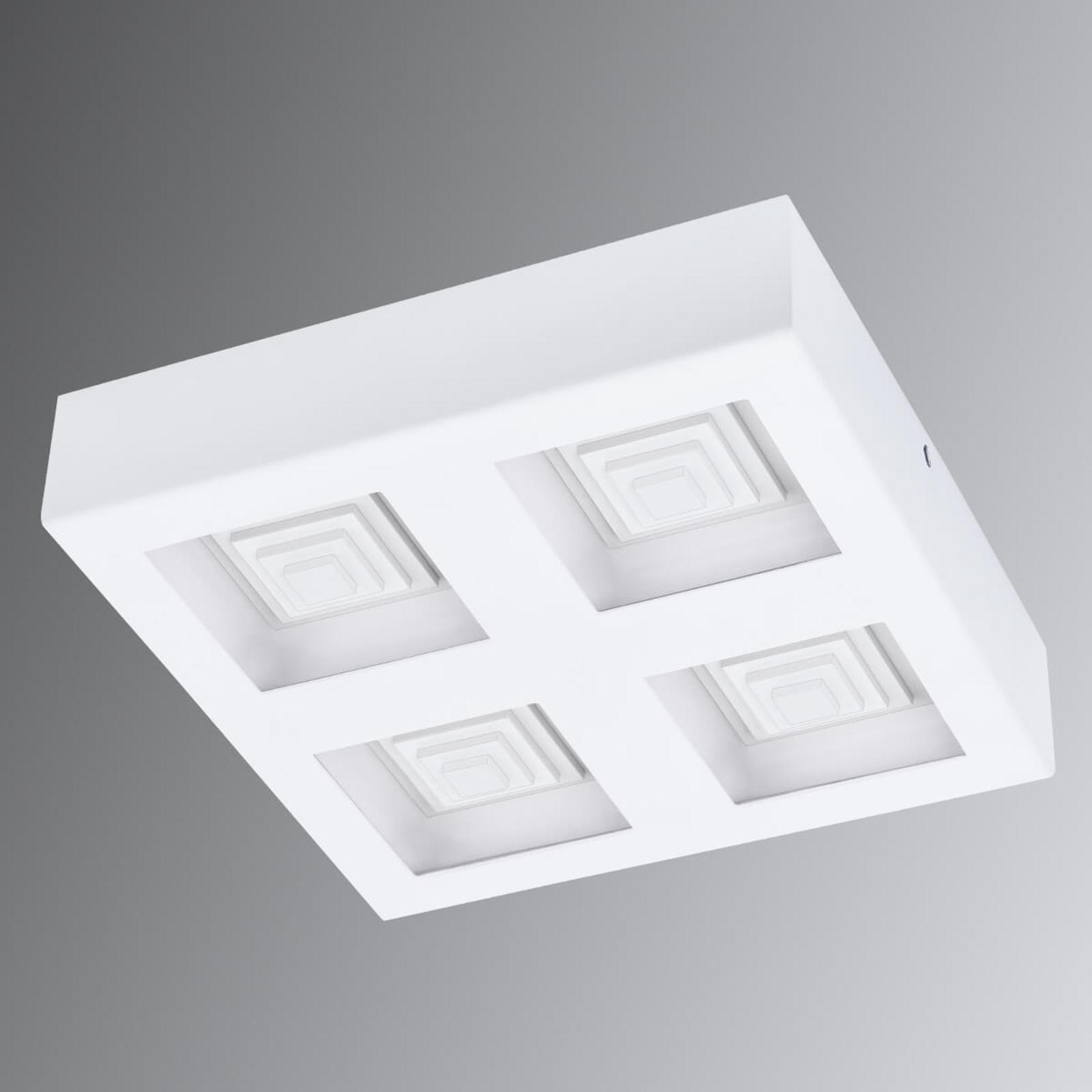 LED plafondlamp Ferreros, 4-lamps