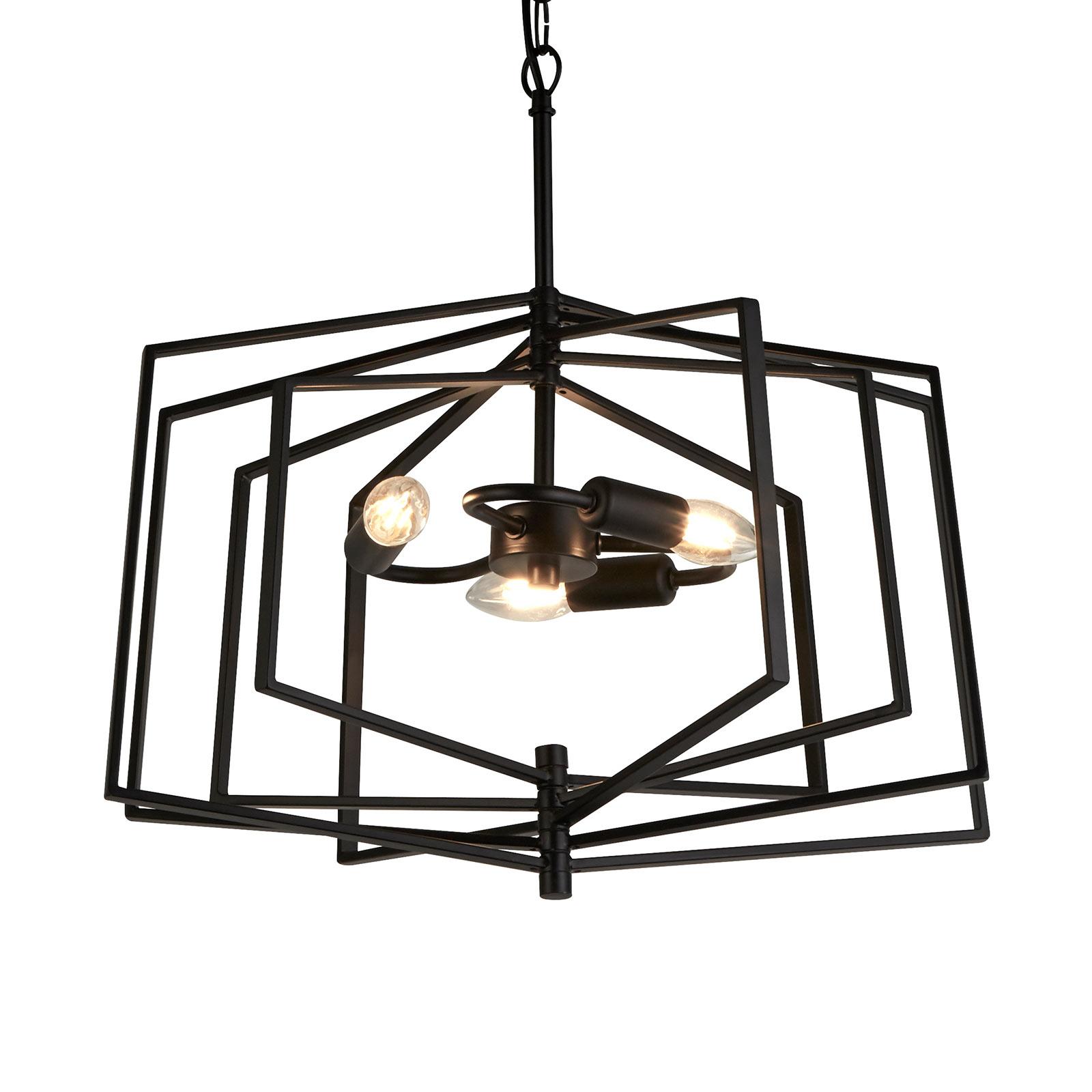 Lampa wisząca Slinky 3-punktowa Ø 50 cm