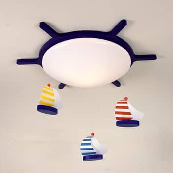 Plafondlamp met bootmotief SEGELBOOTE