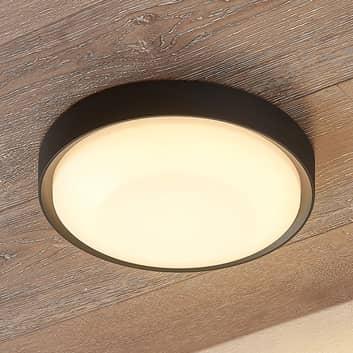 Lucande Lare plafonnier d'extérieur LED, Ø 25cm