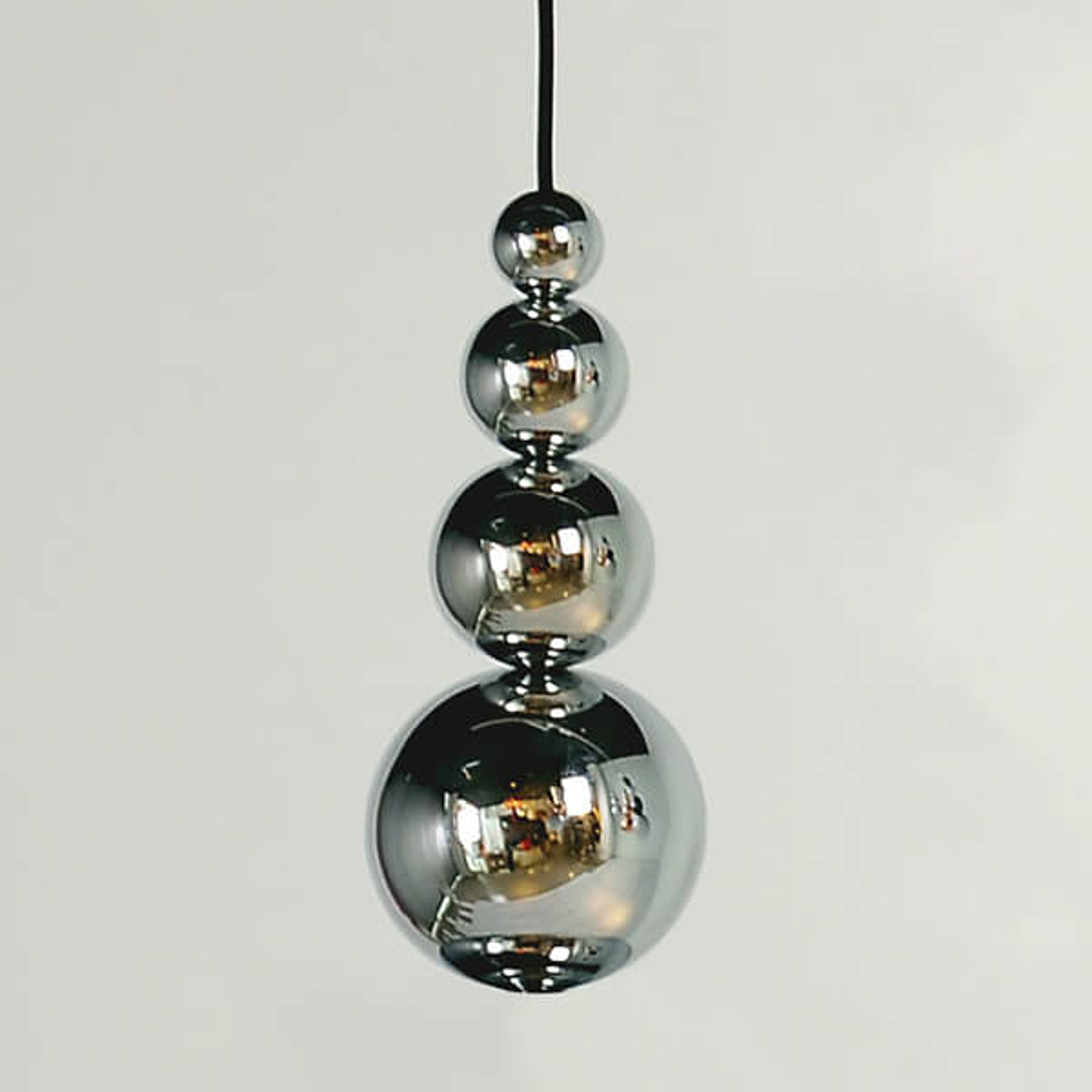 Innermost Bubble - suspension en chromé