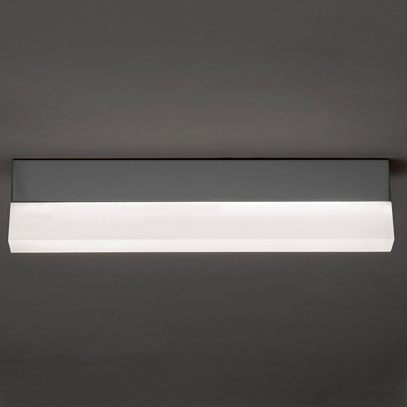 Concrete grey LED ceiling lamp Righa 28 W 3500 lm_3039194_1