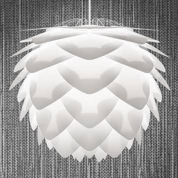 Dekorativ pendellampe Silvia medium, hvid