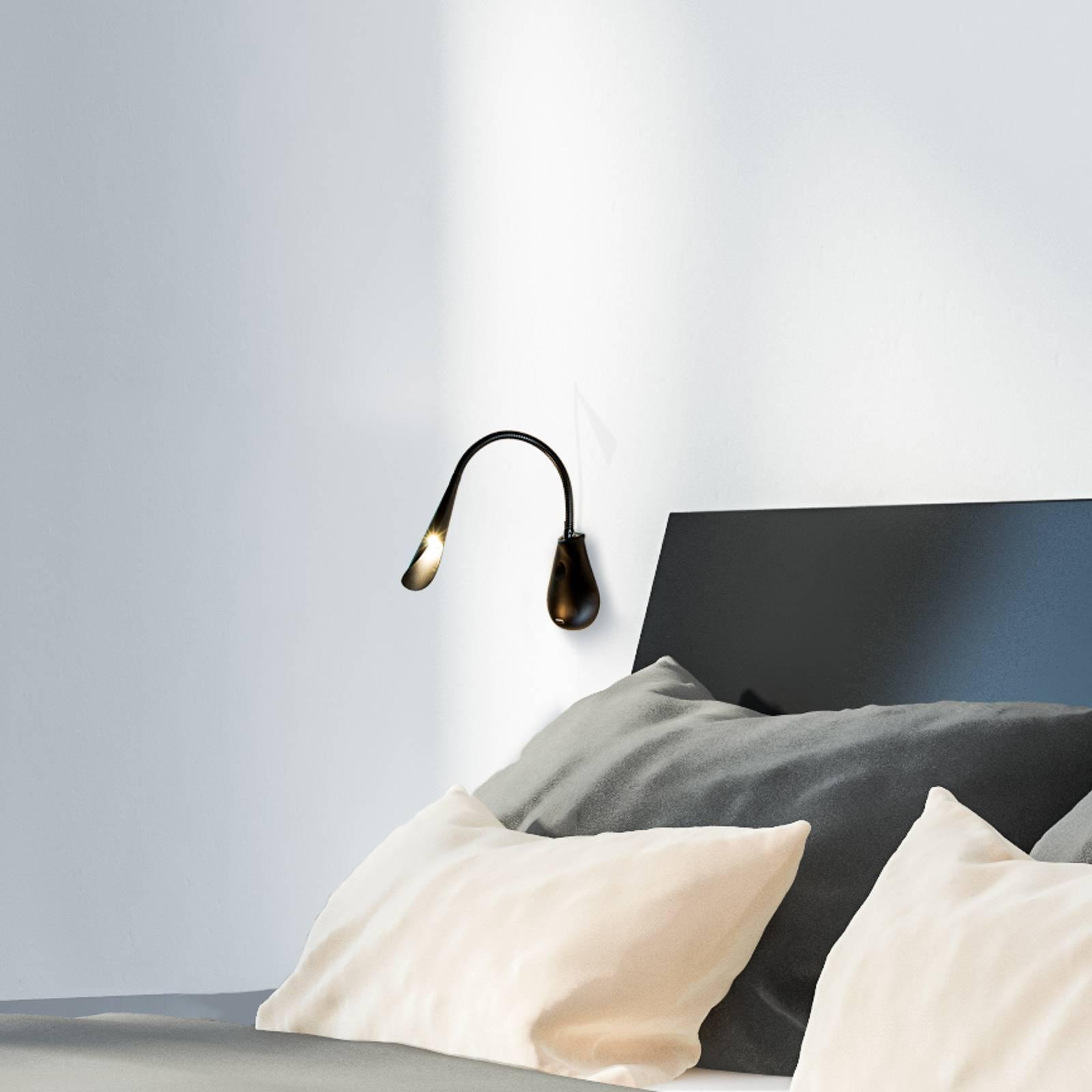 Innermost Cobra 45 Nude LED wandlamp zwart