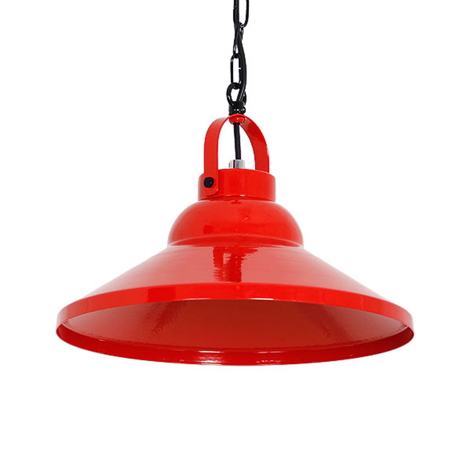 Hanglamp Iron, rood