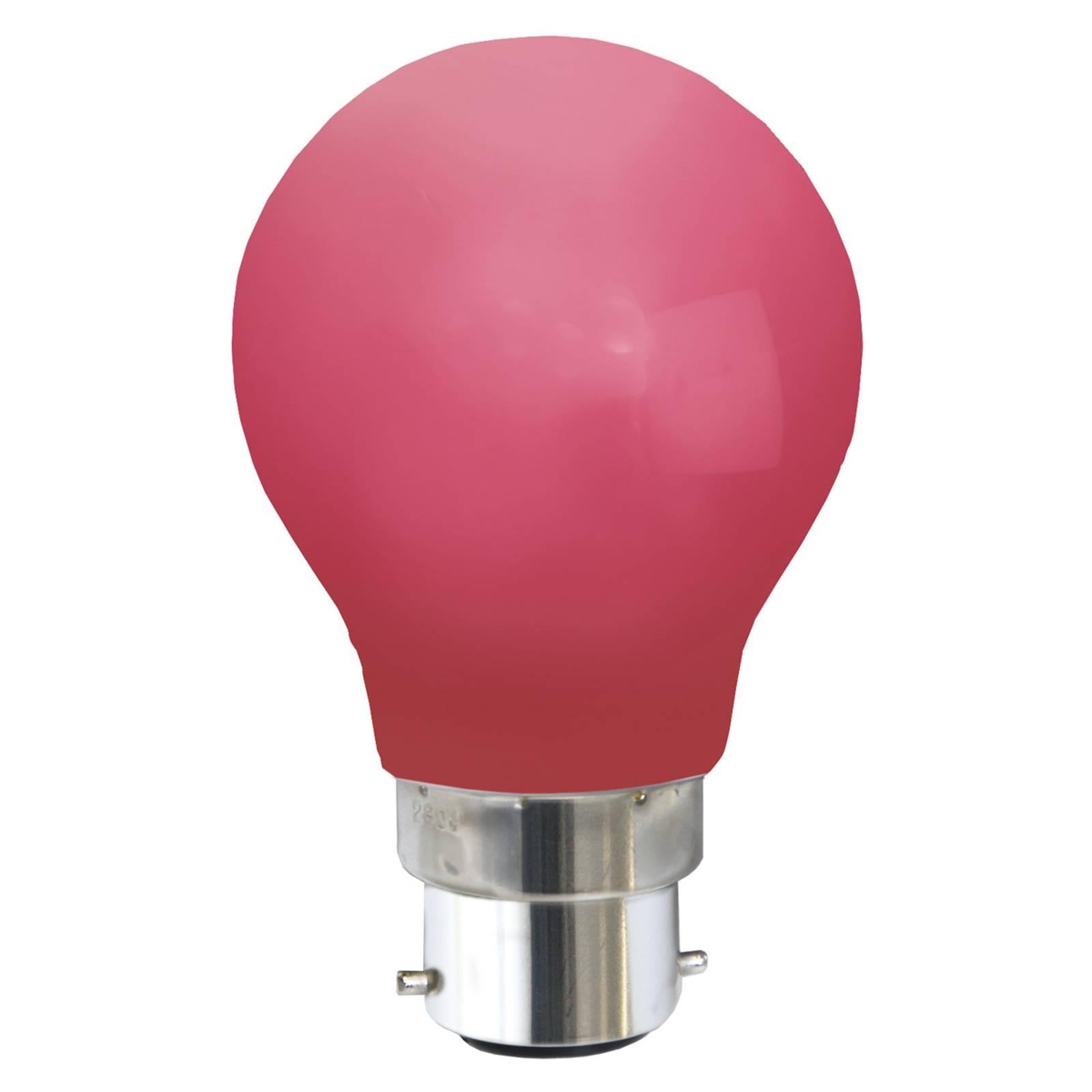 B22 0,9W lampadina LED rossa