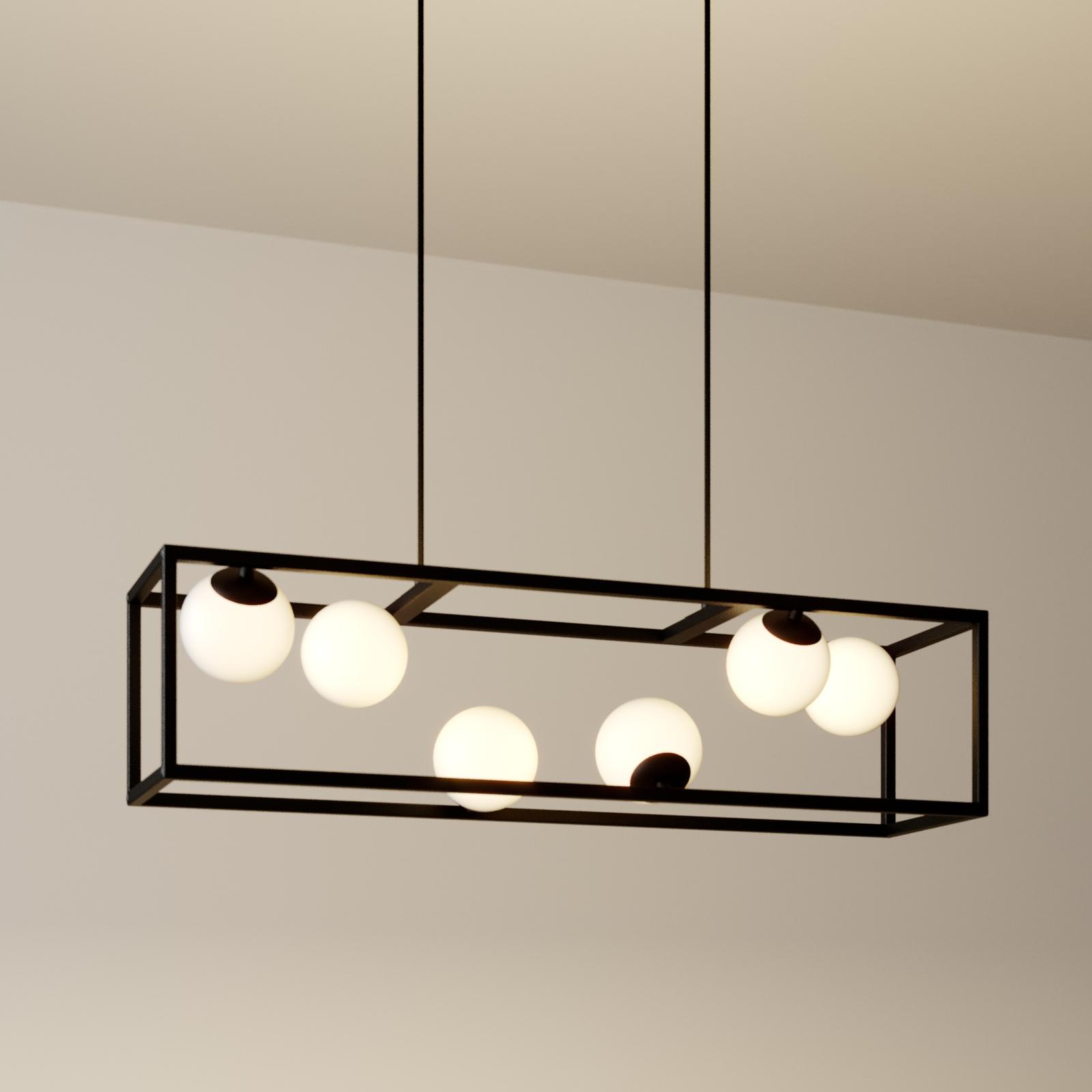 Lindby Utopia lampada LED sospensione, 6 luci
