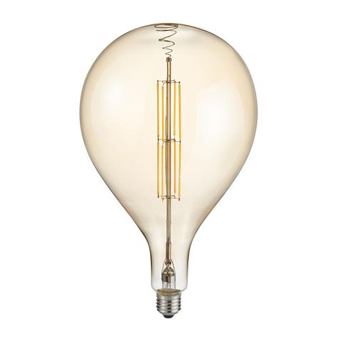 LED-globepære dråpe E27 8 W 2700K amber
