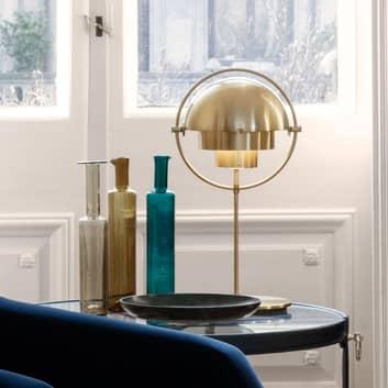 GUBI Multi-Lite lampe à poser support laiton