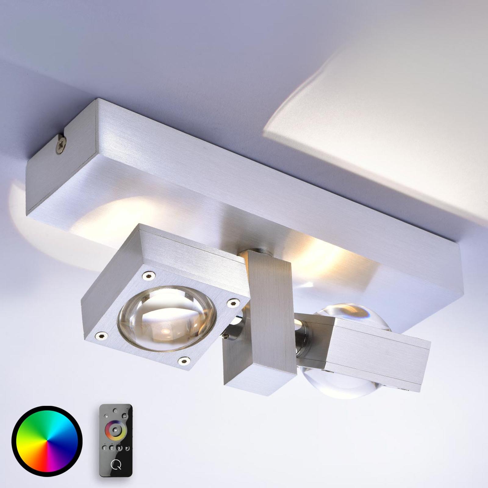 Q-Nemo – sterowana lampa sufitowa LED z pilotem