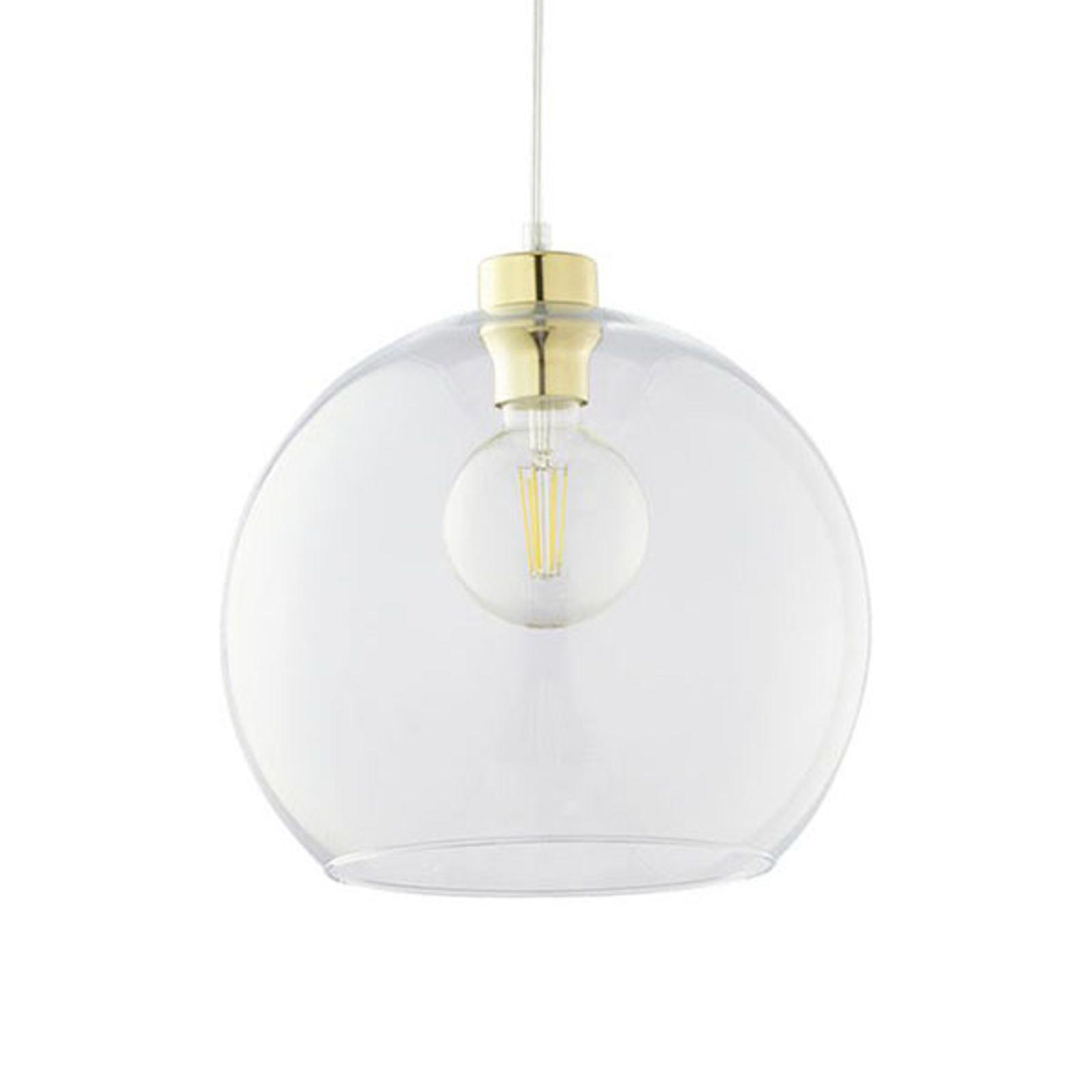 Lampa wisząca Cubus, 1-punktowa, biała