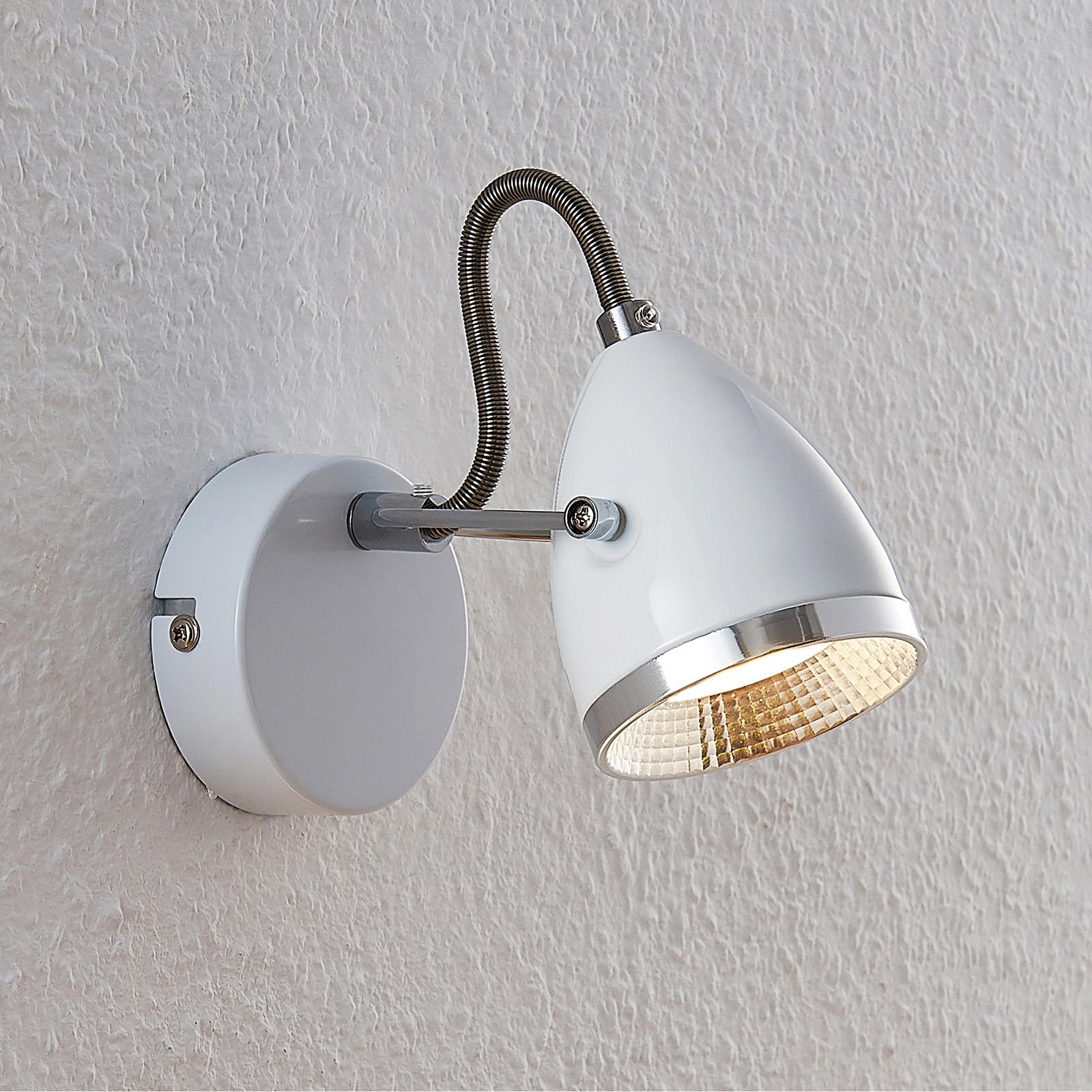 Lindby Jadon LED-veggspot hvit