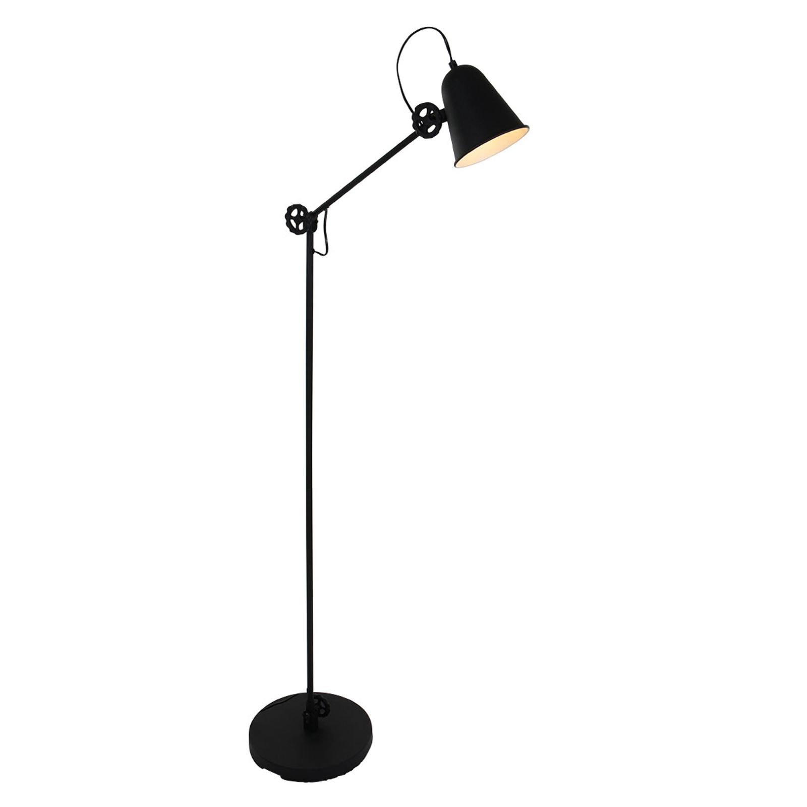 Stehlampe Anne Dolphin schwarz