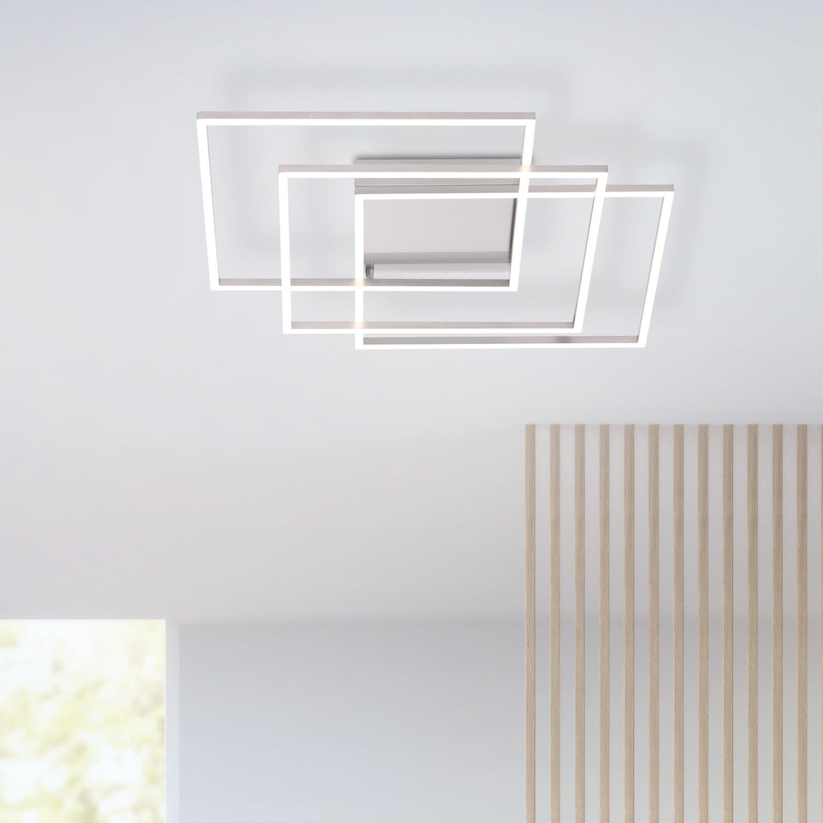 Plafonnier LED Q-Inigo compatible Smart-Home 60 cm
