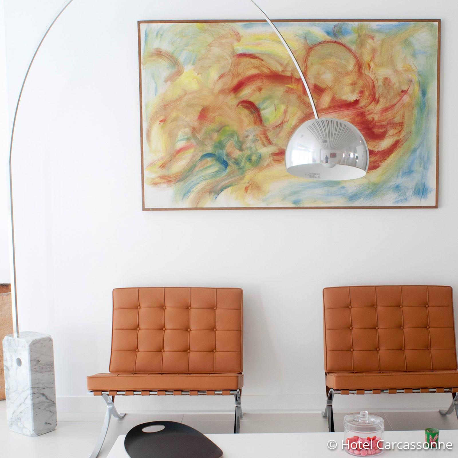 Högklassig designer-båglampa ARCO