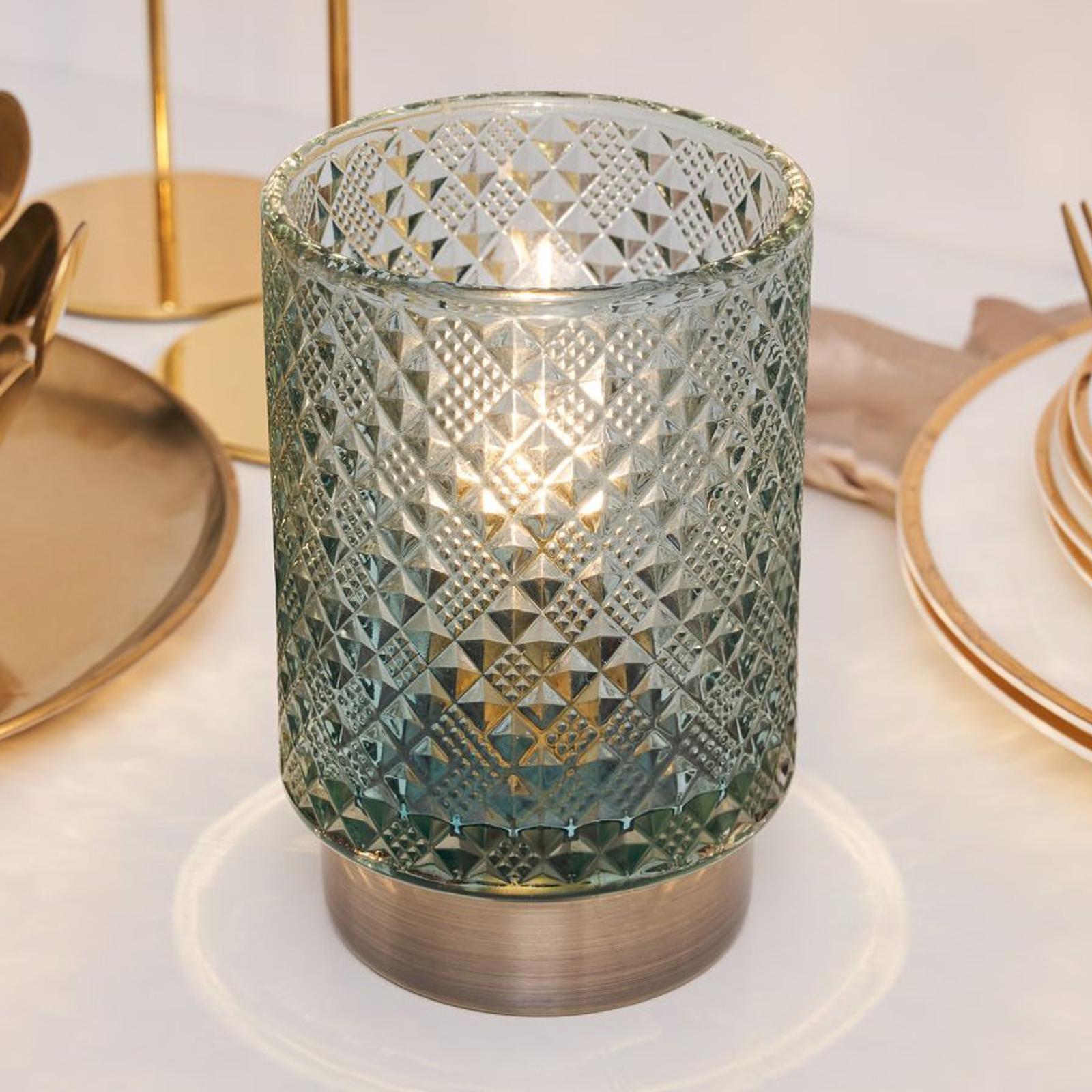 Pauleen Modern Glamour LED-bordlampe, batteri