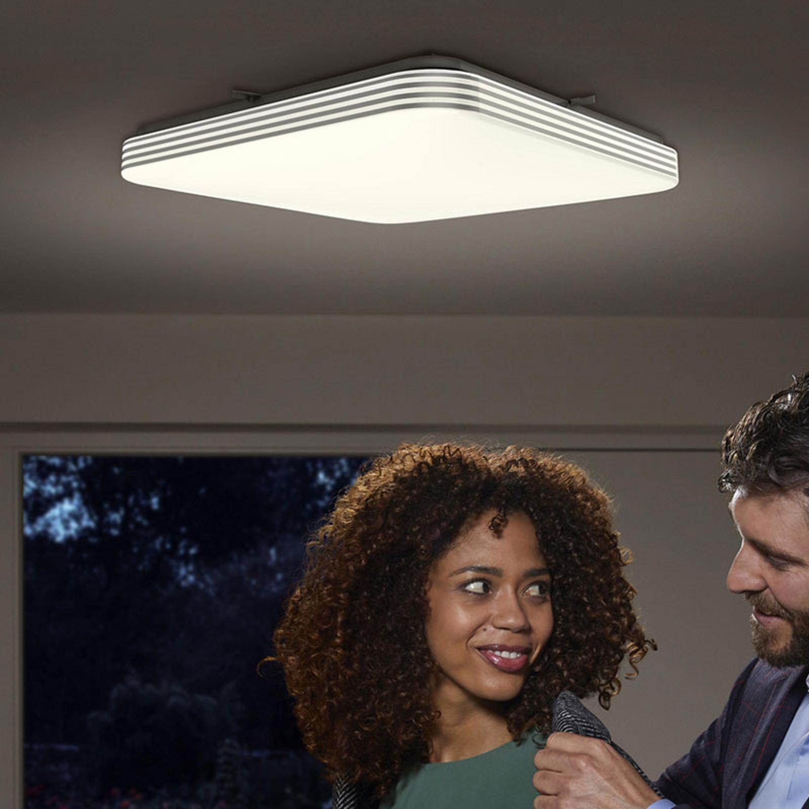 Ledvance Orbis Sensor LED-Deckenlampe eckig 43cm
