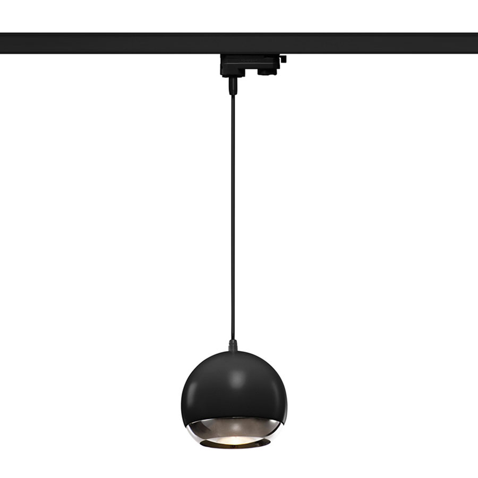 SLV Light Eye 150 hanglamp HV-rail, zwart