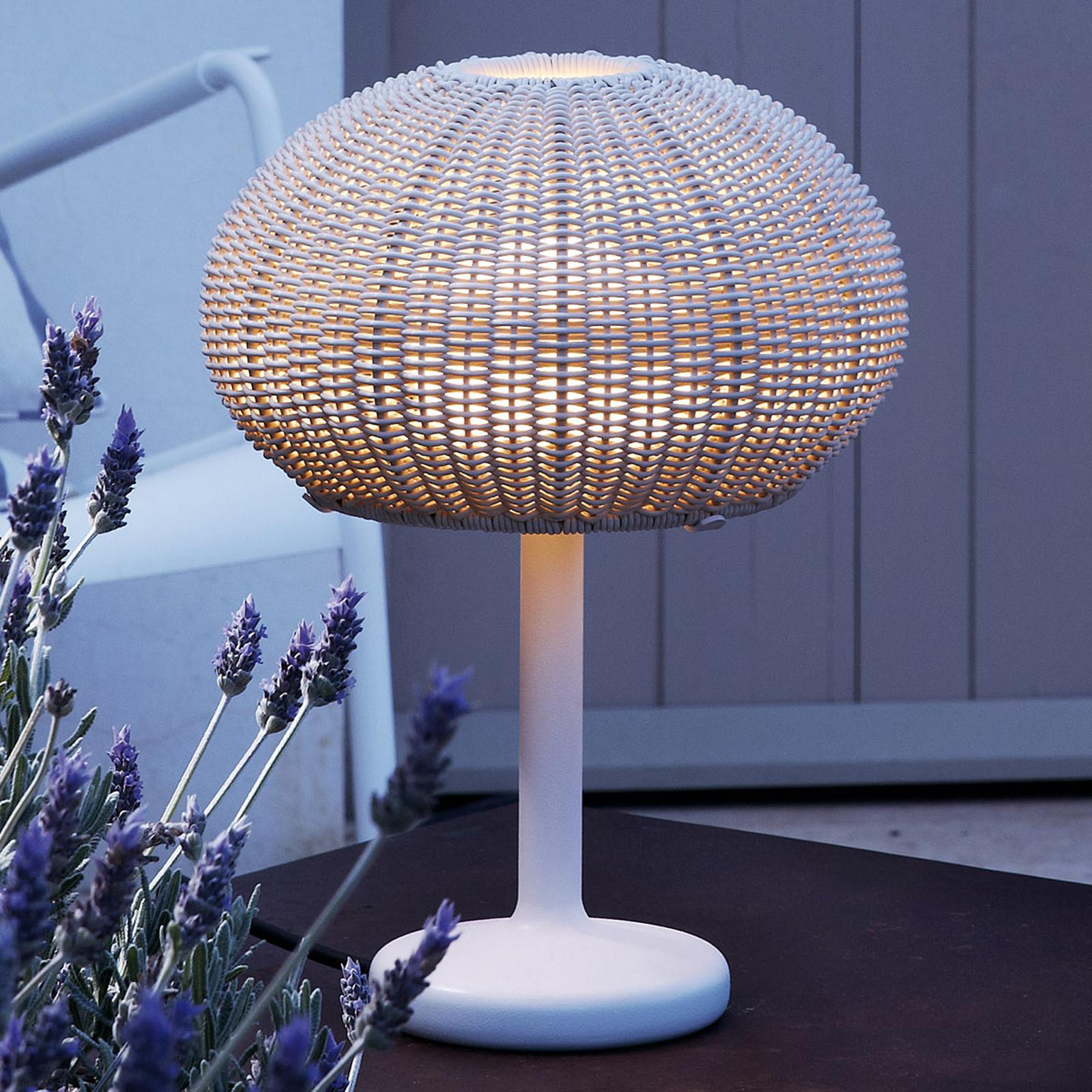 Bover Garota Mini LED-Außentischlampe