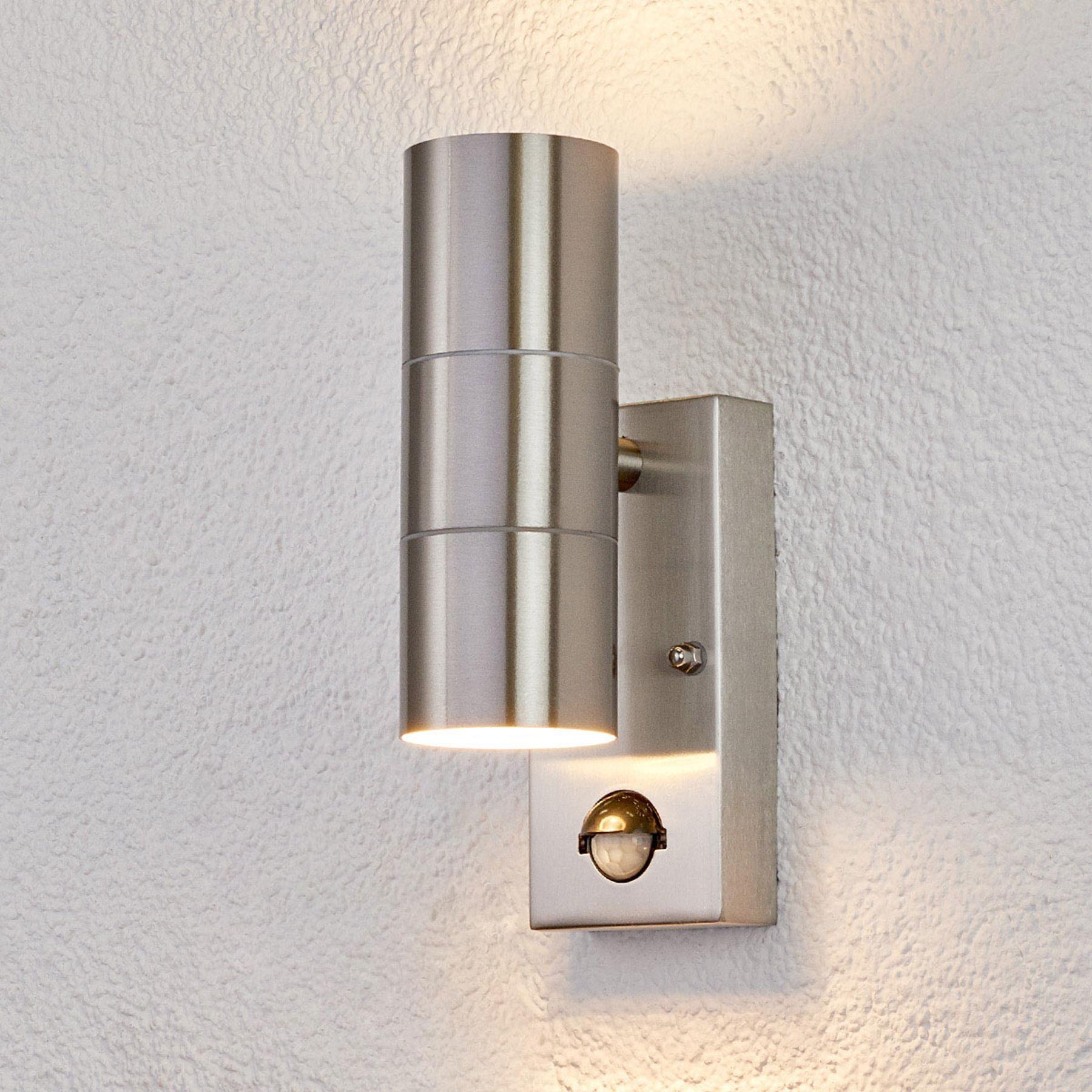 Buitenwandlamp Eyrin met bewegingsmelder