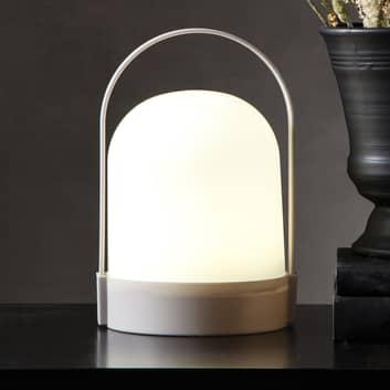 Lámpara de mesa LED Lette con temporizador, pilas