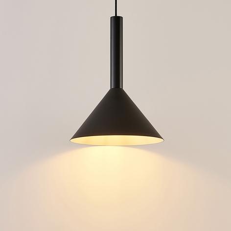 Arcchio Tadej závěs. světlo 1žár. 30 cm černo-bílé