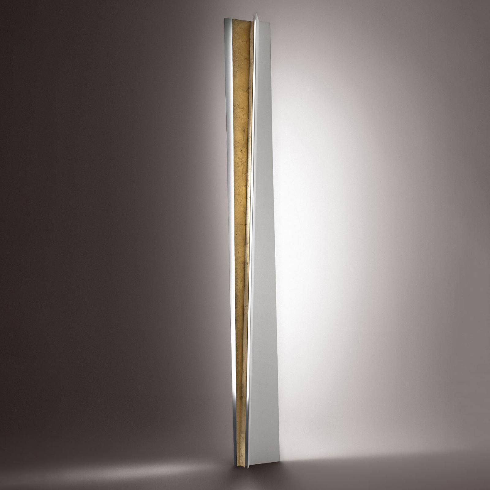 ICONE Reverse - LED- vloerlamp met bladgoud