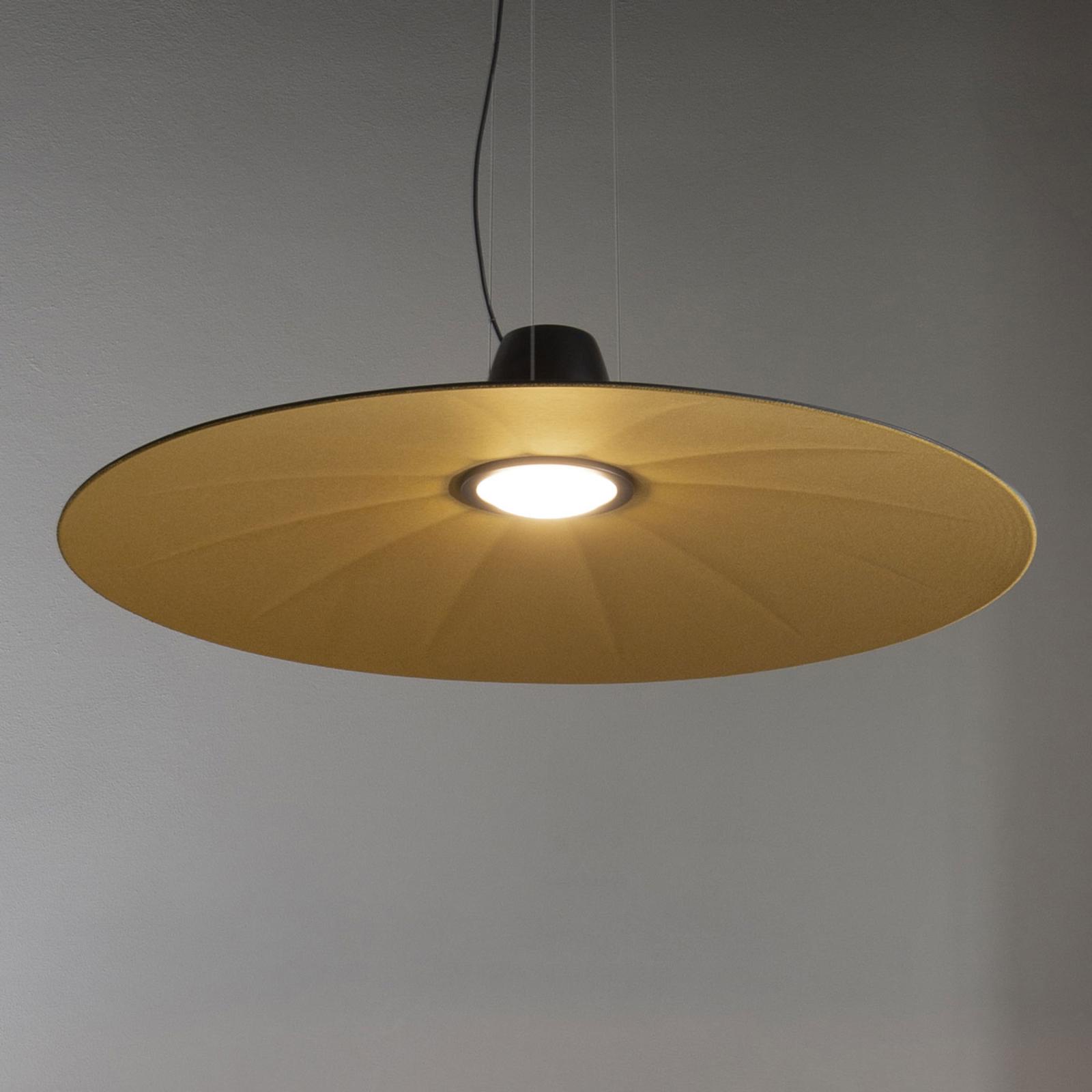 Martinelli Luce Lent LED-Hängeleuchte, gelb