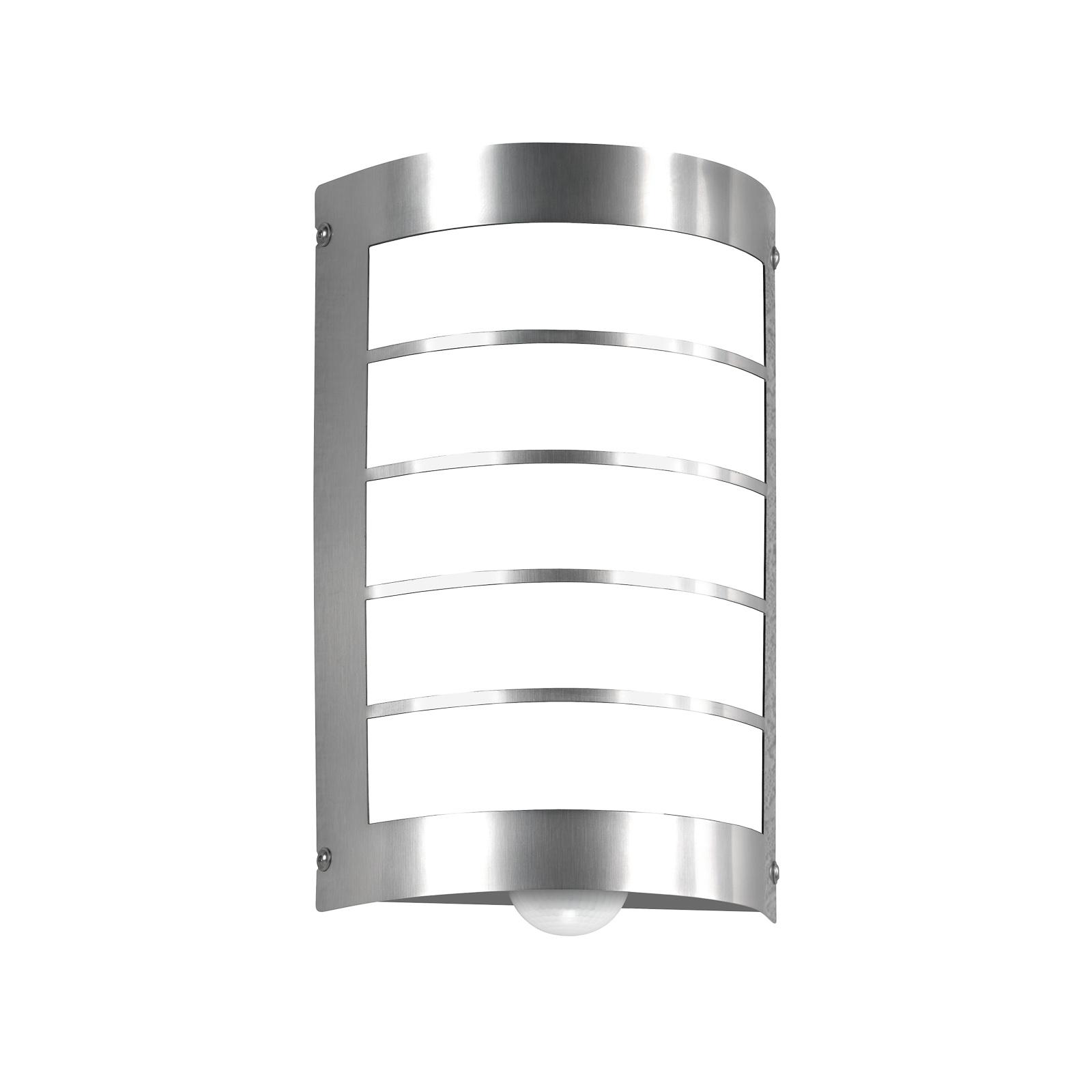 Moderne Marco 1 utendørs vegglampe med sensor