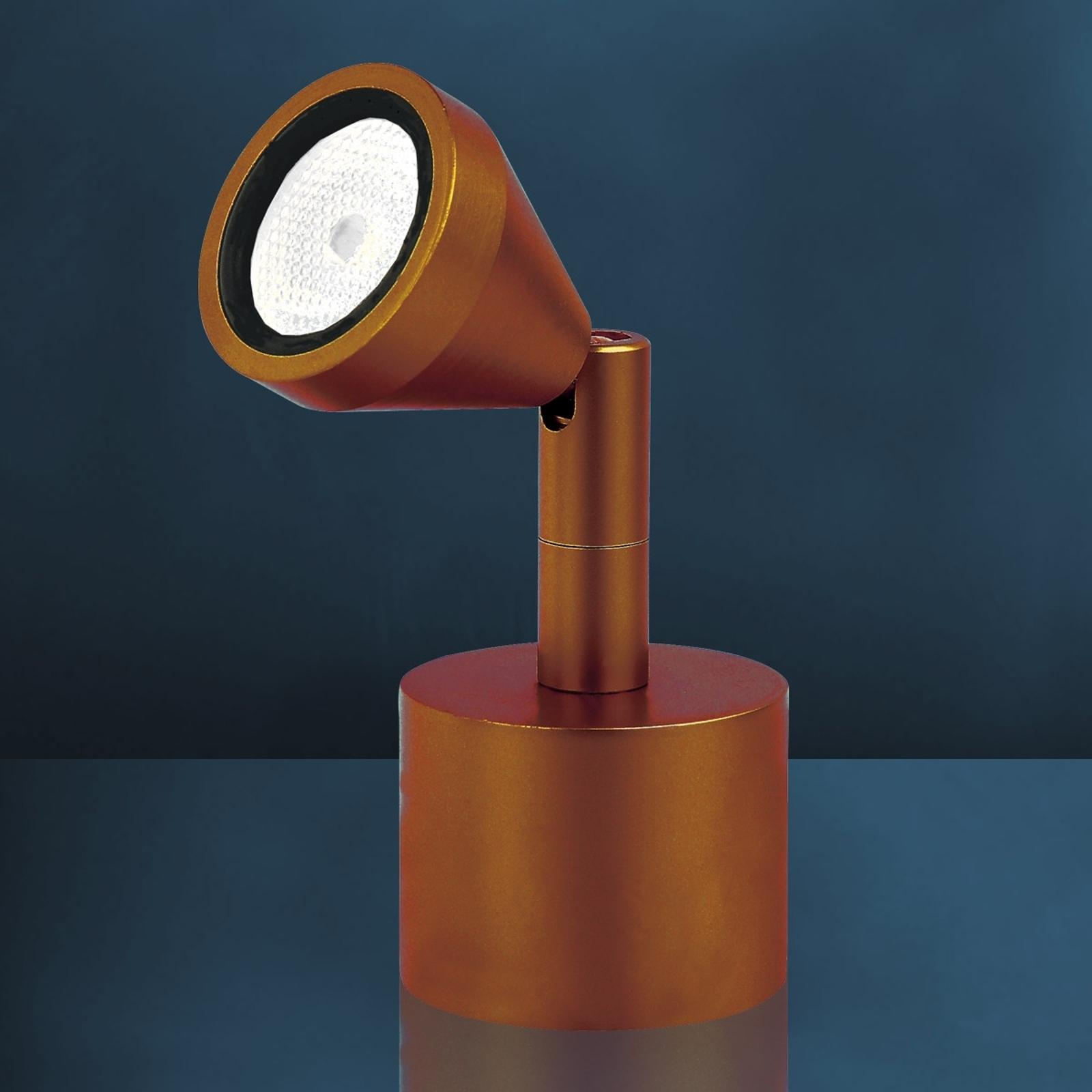 Spot LED da tavolo MINI, anticato