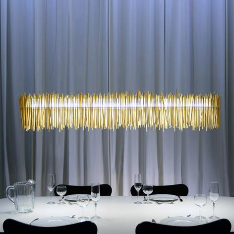 Lampada a sospensione LED Hayashi di bacchette