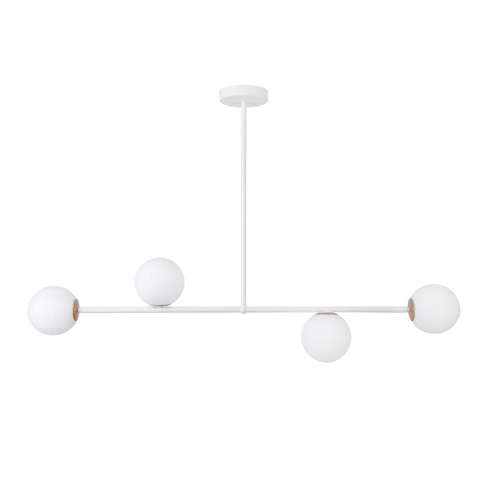 Gama 4 hængelampe, 4 lyskilder, hvid