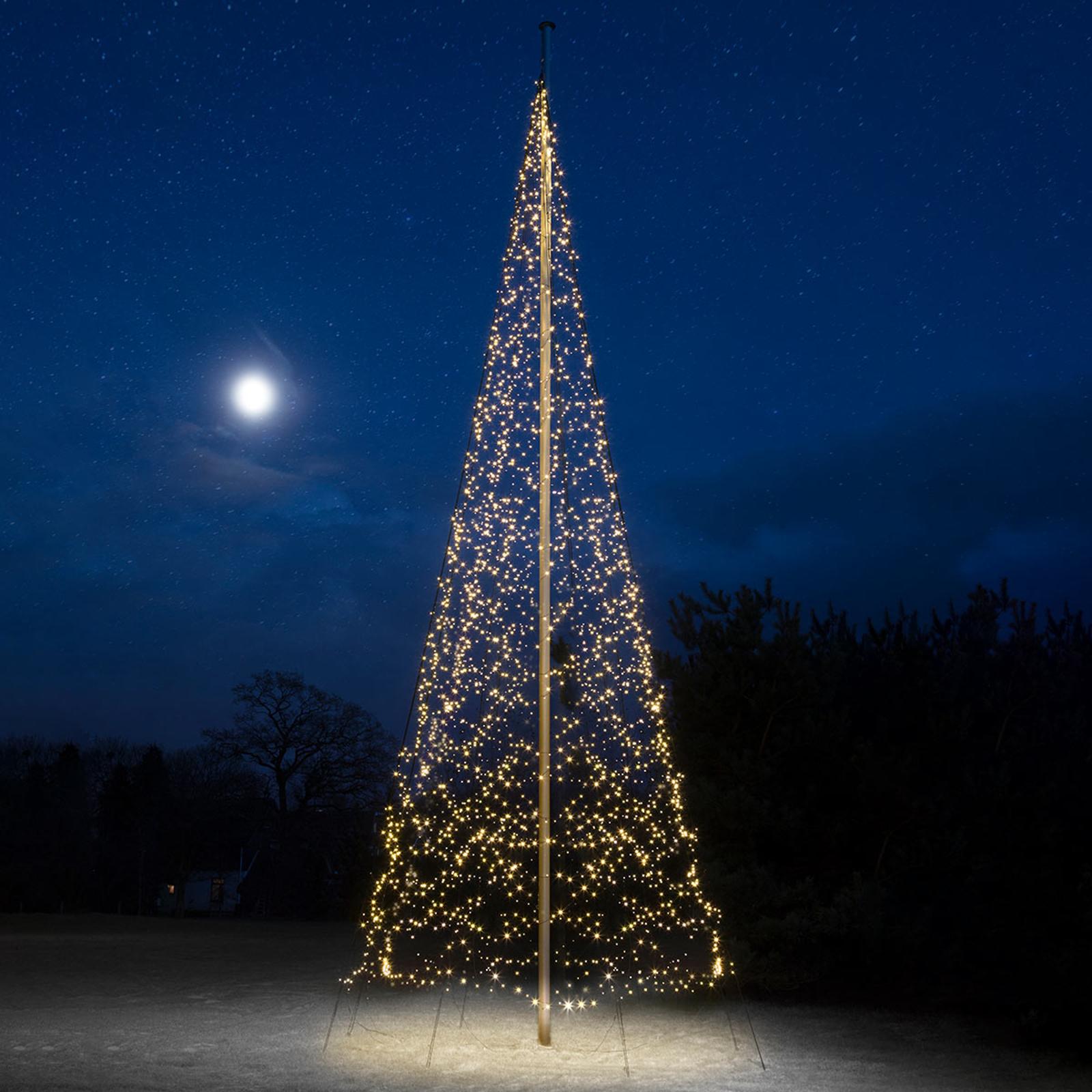 Fairybell® juletræ, 10 m, 4.000 LED'er